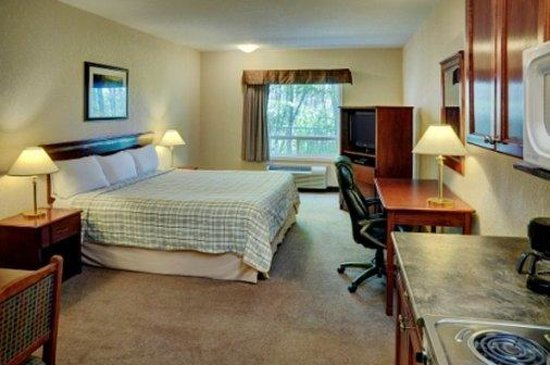 Lakeview Inn & Suites - Chetwynd: King Guestroom
