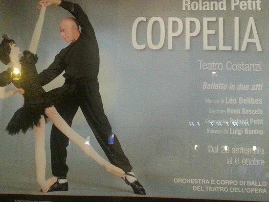 Teatro dell'Opera di Roma: Locandina di Coppelia