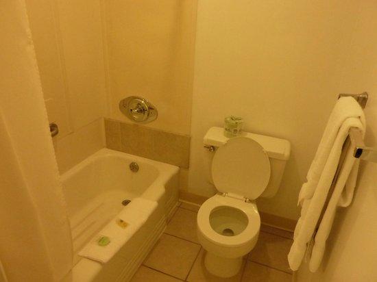 A Western Rose Motel: Salle de bain très propre