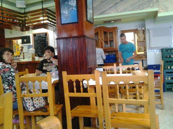 El Patron: Interior del restaurante.