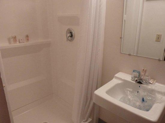 Yellowstone Motel : Petite salle de bain