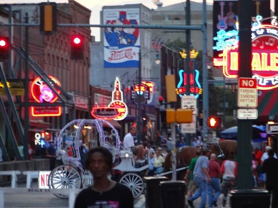 Beale Street: just before dark