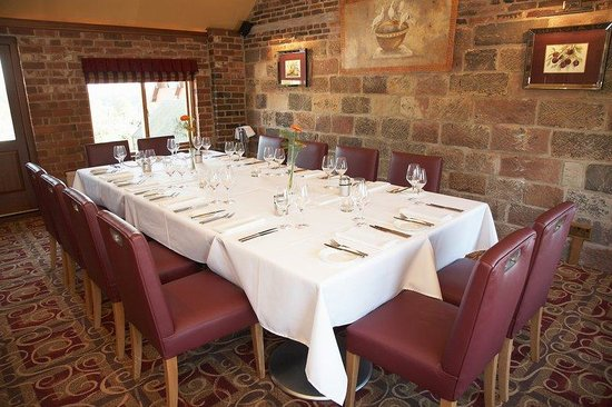 The Morley Hayes Hotel: Dovecote Private Dining