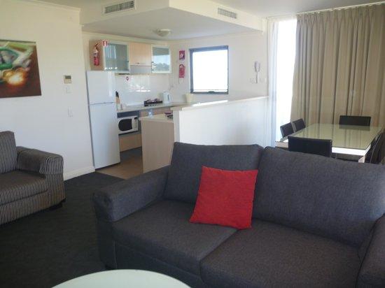 Rydges Mount Panorama Bathurst: Lounge area