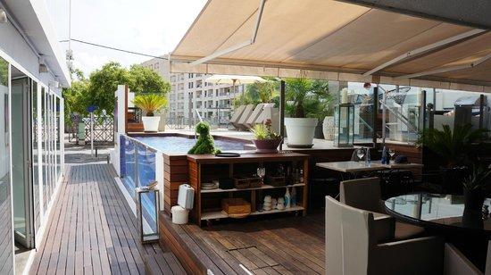 Hotel Feliz: Pool/Patio