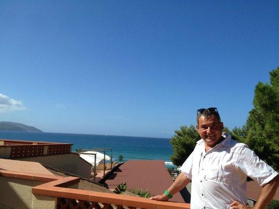 Hotel Biodola: Sicht aus unseren Balkon