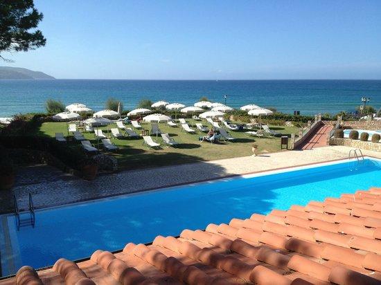 Hotel Biodola: Sicht aus der