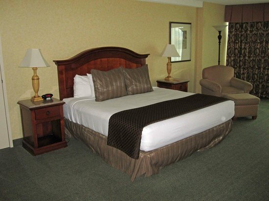 Red Lion Hotel Seattle Airport: The king suite was big. Really big.