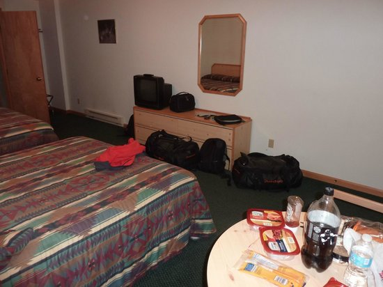 Lone Eagle Lodge: Chambre