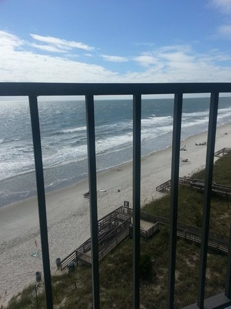 Oceanfront Litchfield Inn : View off of balcony