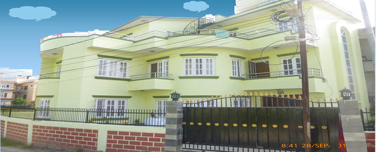 Kathmandu Homestay: Main Building