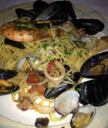 Nanni: spaghetti frutti di mare