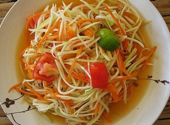 Imchai Thaifood: Papaya salad