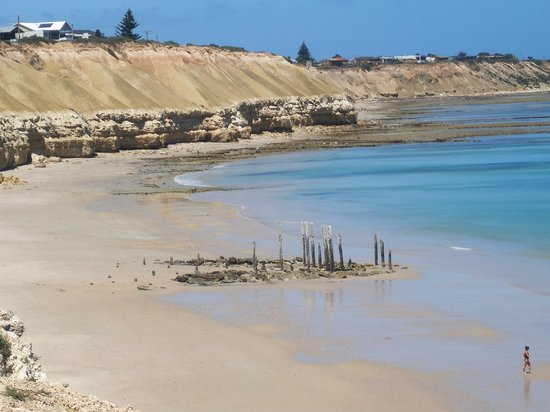 Willunga, Australia: Our local beach