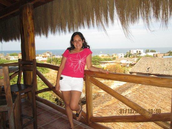 Las Palmeras de Punta Sal: Vista del mirador :)