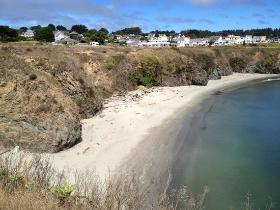 Stanford Inn by the Sea : Mendocino just 5 min. away