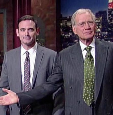 """The Comedy Club of the Outer Banks: Andy Hendrickson -          """"David Letterman"""""""