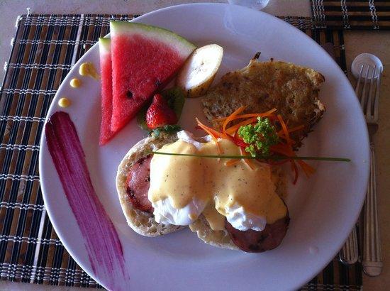 โรงแรมกาซา เดอโลสซวยโนส: Amazing Casa de los Suenos breakfast
