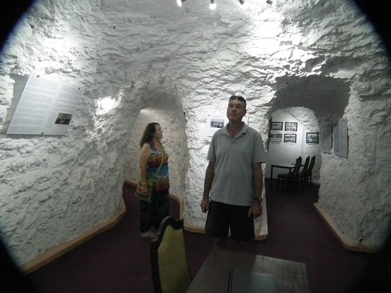 Underground Motel: museum and conference
