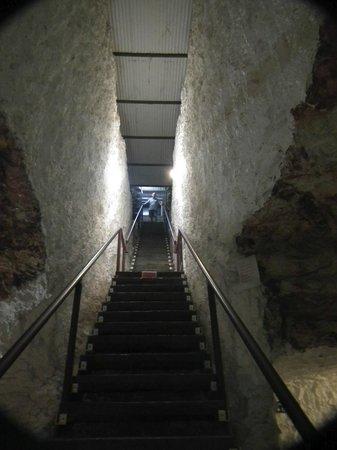 White Cliffs Underground Motel: back entrance