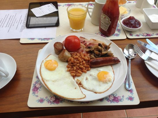 Wadebridge Bed and Breakfast: Home cooked breakfast