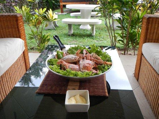 Idyllic Samui Oceanfront Resort & Villas: Патио