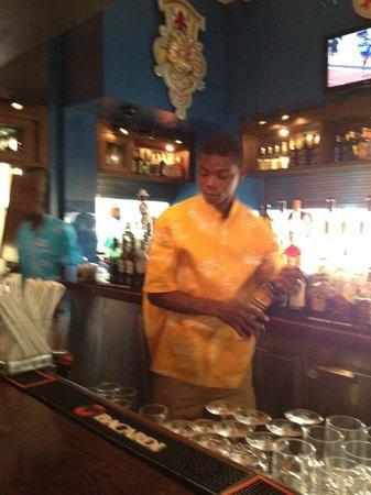 Bimini Road: bartender