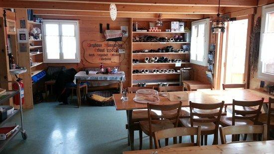 Berghaus Manndlenen: Inside  -  Manndlenen