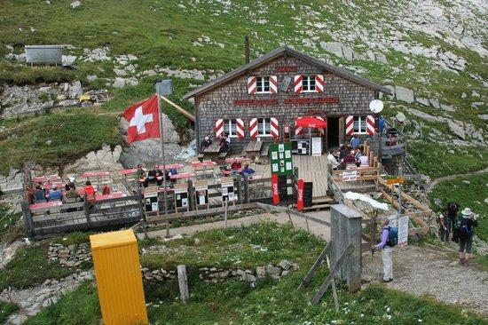 Berghaus Manndlenen: Full View from Trail   -  Manndlenen