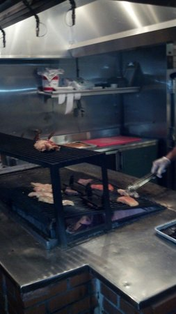 Durango's Steakhouse : Great looking meat on the grill