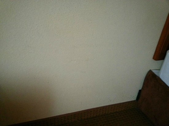 La Quinta Inn & Suites Vancouver: Dirty Wall (2nd room)