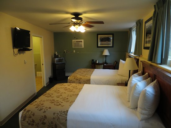 Murphy's River Lodge : Room 117, the handicapped suite