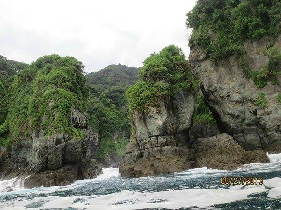 B&B Hotel Cerrito Tropical Lodge: Tour por detrás de la isla (coordinado por la sra. de Cerrito)