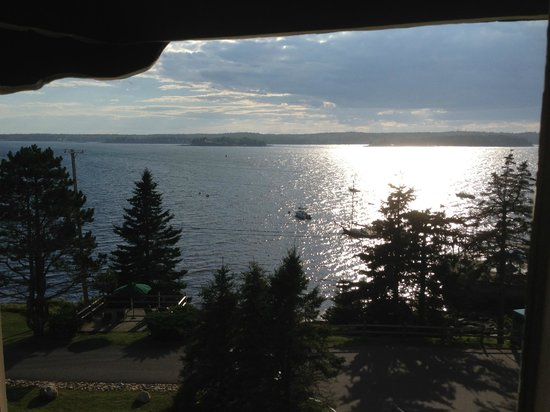 Spruce Point Inn Resort and Spa: from room