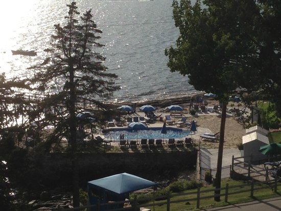 Spruce Point Inn Resort and Spa: From our room