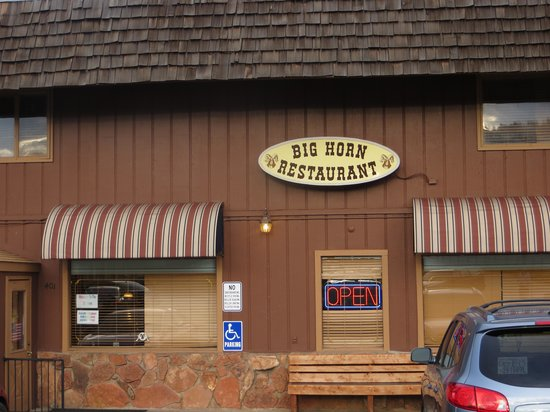 Big Horn Restaurant: Restaurant Exterior