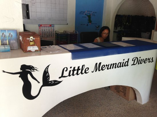 Little Mermaid Dive Resort : Diveshop