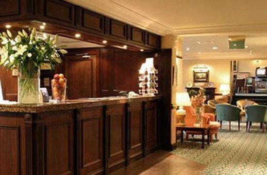 Britannia Waterside Hotel: Reception