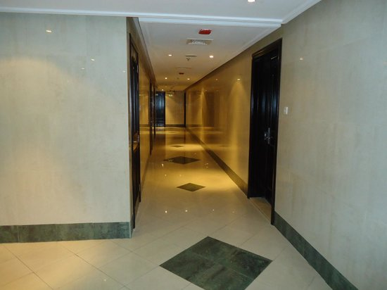 Emirates Stars Hotel Apartments : OTHER SIDE OF CORRIDOR