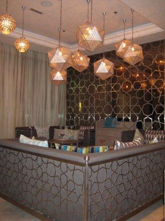El Manza Restaurant : Interior