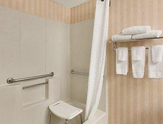 Days Inn Albany Airport: ADA Bathroom