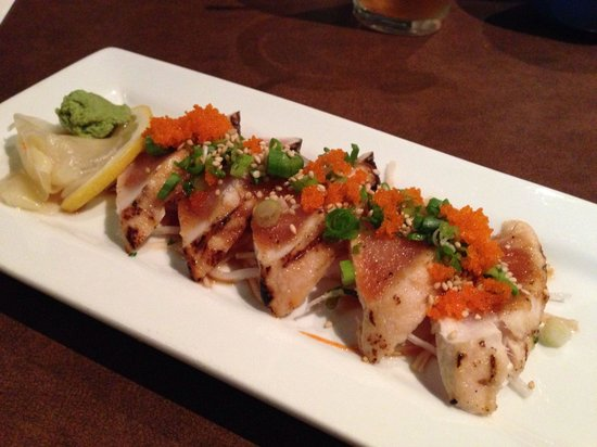 Osamu Sushi: tuna tataki
