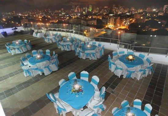 Hotel Atrium Plaza: Event Terrace