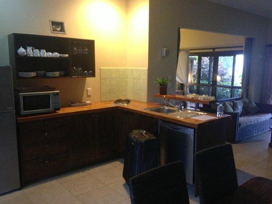 Sea Change Villas: kitchen