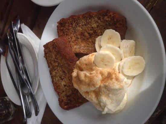 Megalong Valley Tearooms: Gluten free banana bread