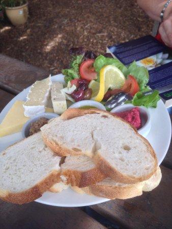 Megalong Valley Tearooms: Mediterranean ploughmans platter