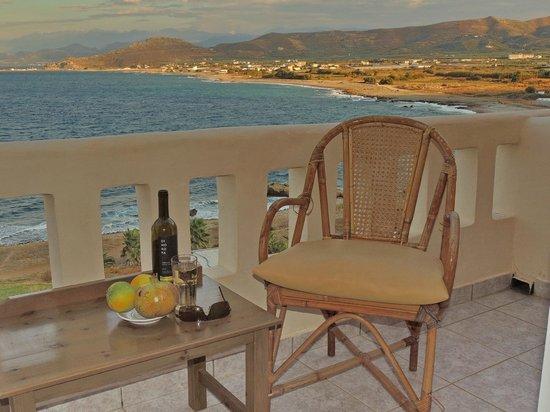Balos Beach: на балконе номера