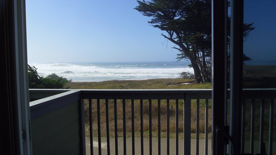 The Beachcomber Motel and Spa on the Beach: Seeing the ocean from the room