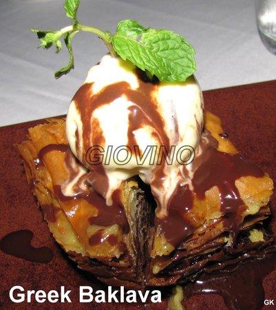 Greek Bifteki - Picture of Giovino Restaurant, Kuala Lumpur ...