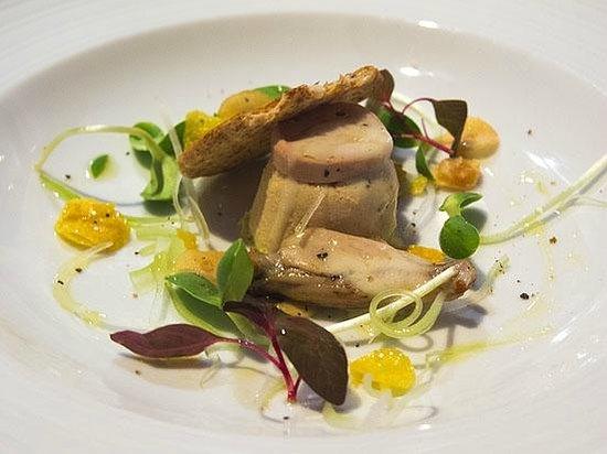 La Table de Tee: Duck and garlic